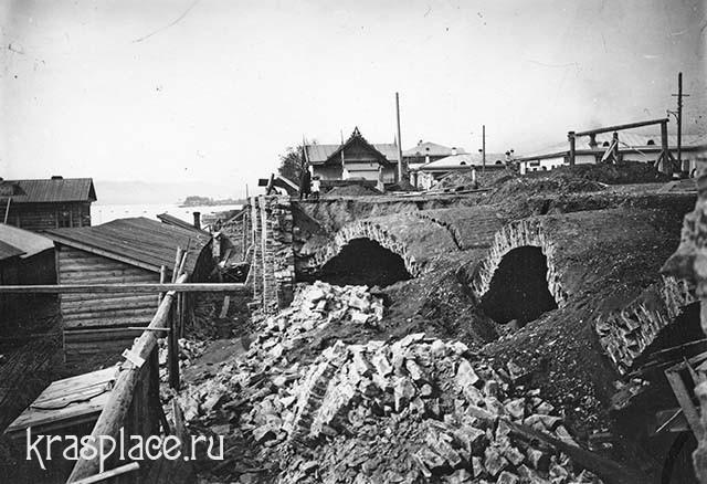 Обрушение кладовых. Из архива ККМ