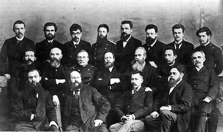 Члены Общества врачей Енисейской губернии, 1886 г. Фото из архива КрасГМУ