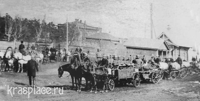Пожарная дружина начала ХХ века