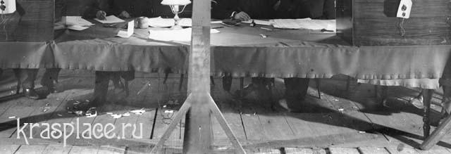Выборы в Государственную Думу. В фойе театра. Фрагмент. Апрель 1906 г
