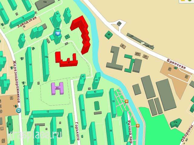 Карта 2012 года