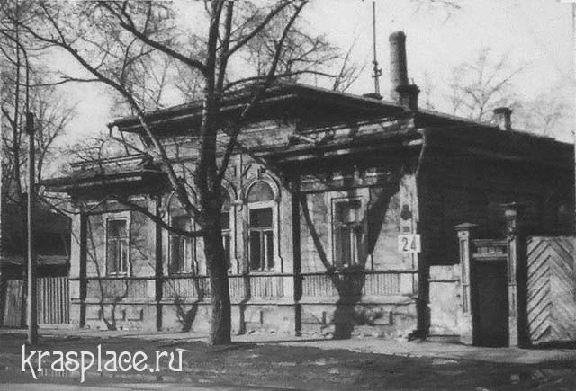 Дом Фон-Эзерских. 1980-е гг. Из архива Ю.И.Гринберг