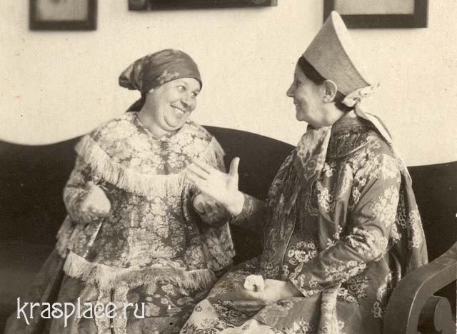 Сплетницы. 1916 Выставка Старый Красноярск