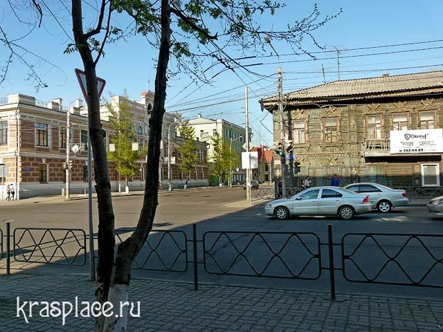 Дом А.В.Телегина напротив мужской гимназии. 2012г