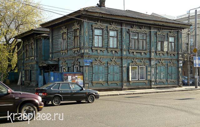 Дом Деревянный дом А.В.Телегина 2012г