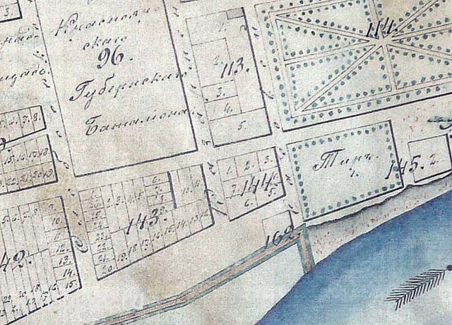 Межевые планы 1870 г. Фото из коллекции краеведе Н.Е.Лалетиной