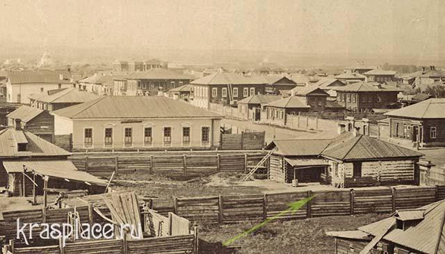 Усадьба Е.Е.Юрковской. 1880-е года