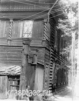 Дом усадьбы Некрасова в Красноярске.