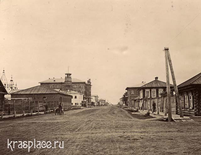 Енисейск. Улица Большая. 1910