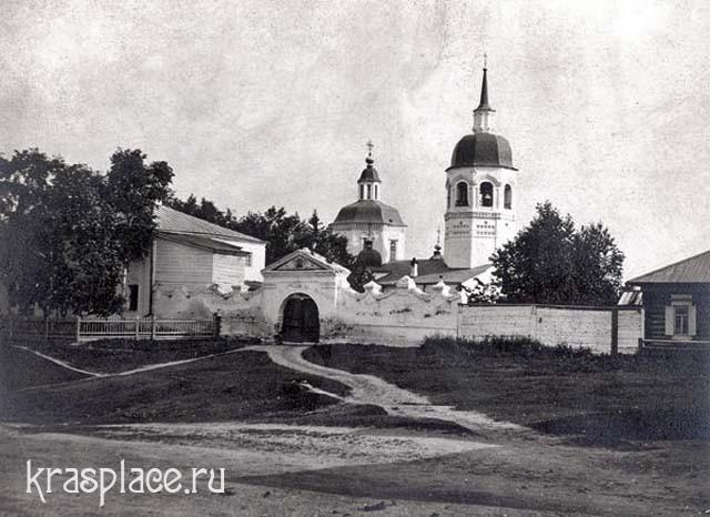 Мужской монастырь в Енисейске