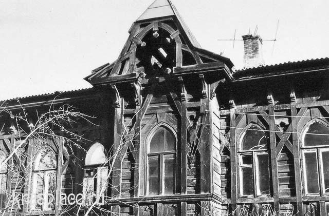 Фрагмент Дома ксендза 1980-е гг. Из архива Ю.И.Гринберг