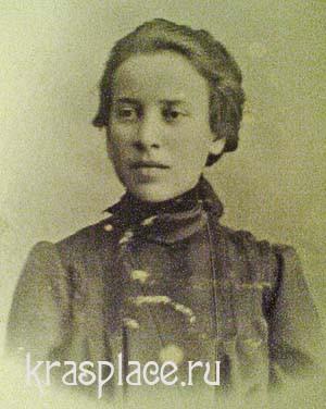 Надежда Константиновна Дингильштедт 1906г