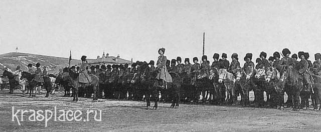 Енисейский казачий полк. Новобазарная площадь