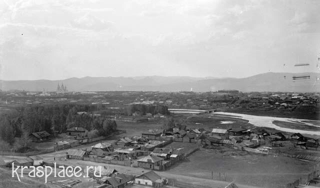 Вид от Попова луга за речкой Качей (фото из фондов ККМ)