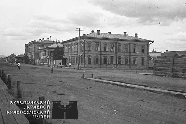 Деревянный дом усадьбы А.А.Саввиных