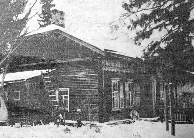 Дом на опытном поле, построен в 1913 году. Здесь жила семья Нащокиных