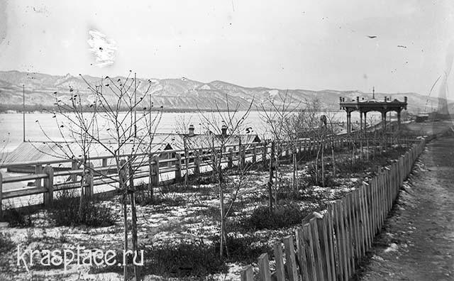 Бульвар на набережной. 1908 г