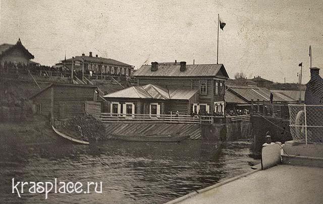 Пристань Гадалова. 12 мая 1911г