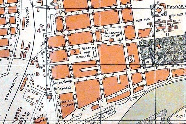 Карта 1924 г