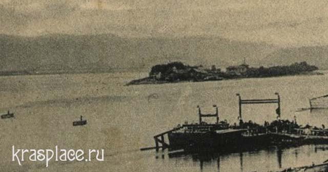 Река Енисей 1905