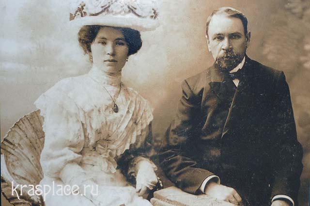 А.Ф.Метелкин с женой Е.А.Метелкиной