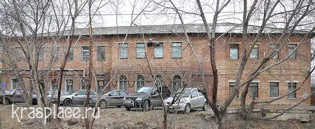 Здание бывшего бактериологического института в Николаевской слободе города Красноярска