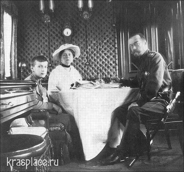 Вагон-столовая Императорской семьи