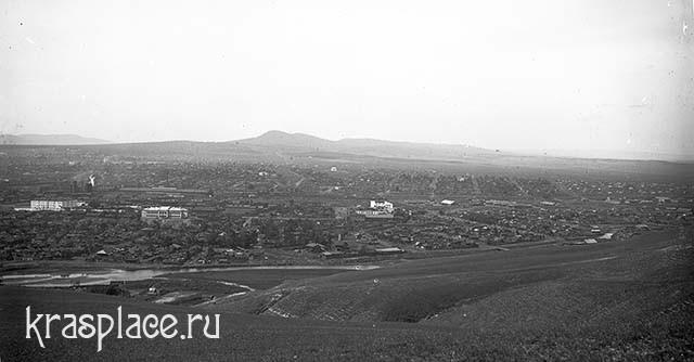 Вид от р. Качи на запад. Из архива ККМ