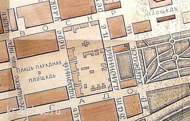карта 1894 год