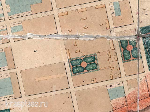 Красноярск 1828г. Из архива ККМ