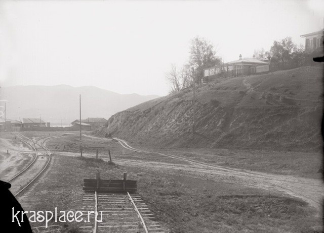 Афонтова гора. 1924 г. Справа - библиотека Г.В.Юдина