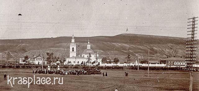 Вид на часовню 1914 г
