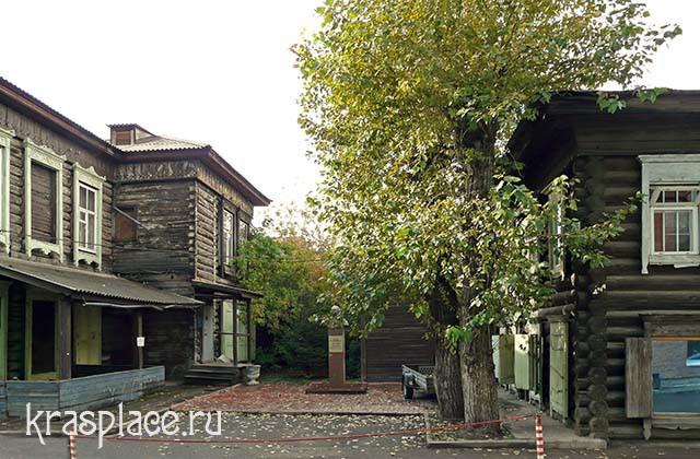 Дворик дома Абалаковых