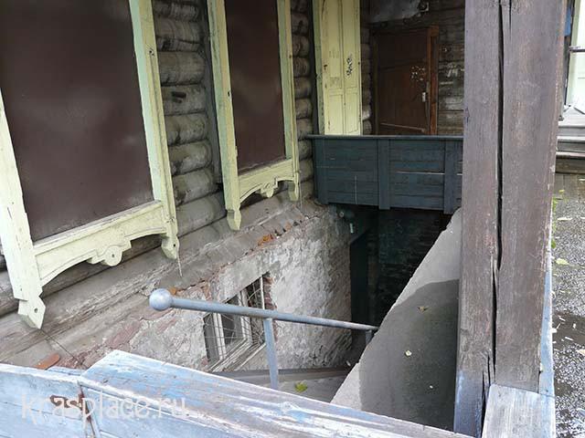 Подвальное помещение дома Абалаковых