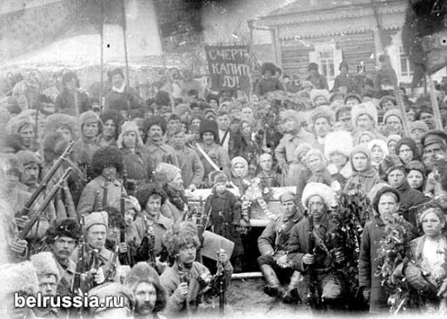 Партизаны Томской губернии. Весна 1919 г