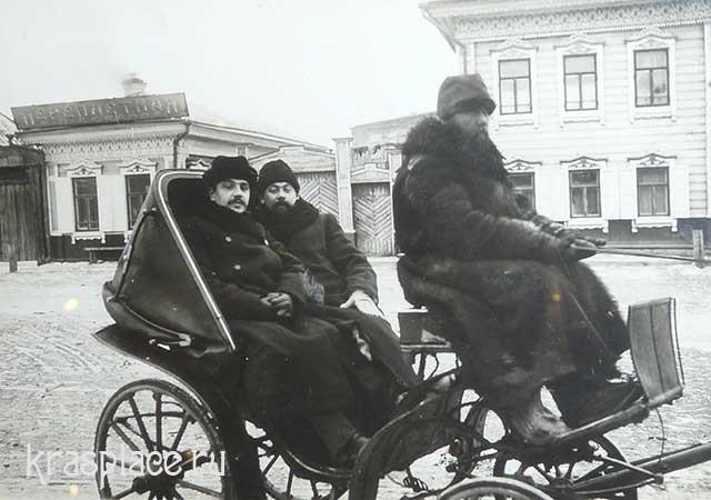 А.И.Вицин и М.Ф. Фунтиков. Красноярские врачи