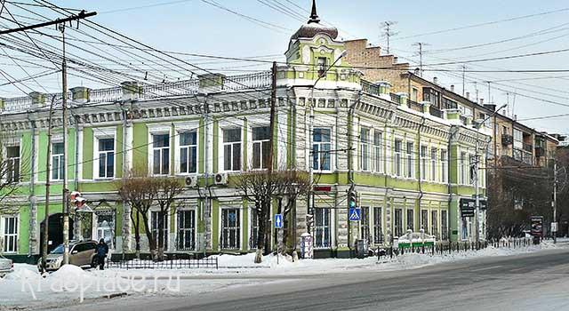 Здание на перекрестке ул Ленина и Диктатуры пролетариата 2014 г