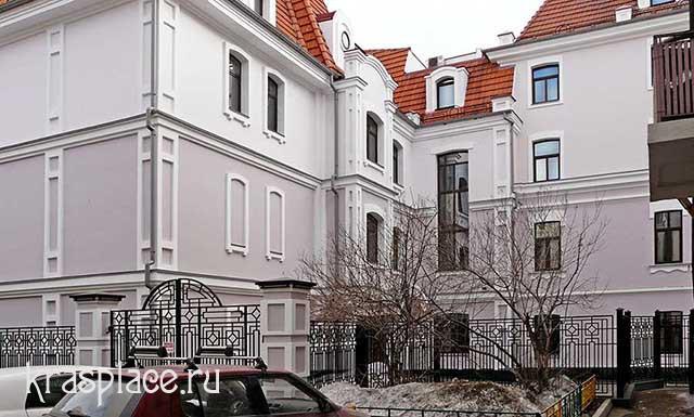 Бывший дом врача Коновалова со двора. 2014
