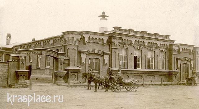 Городская лечебница, в которой работал врач П.Н.Коновалов