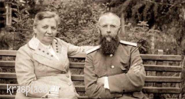 Врач П.Н.Коновалов с женой