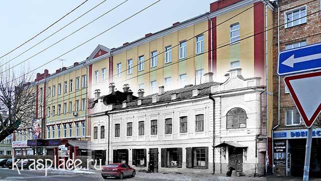 Дом И.И.Гадалова начало ХХ в -2014 г