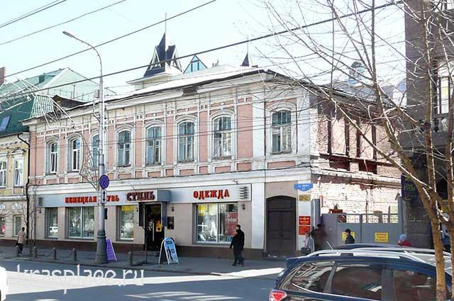 Красноярск. Мира, 47. 2014 год