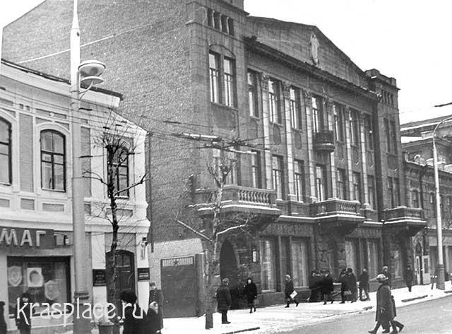 Улица Мира, 1980-е гг.Из архива Е.В.Гевель