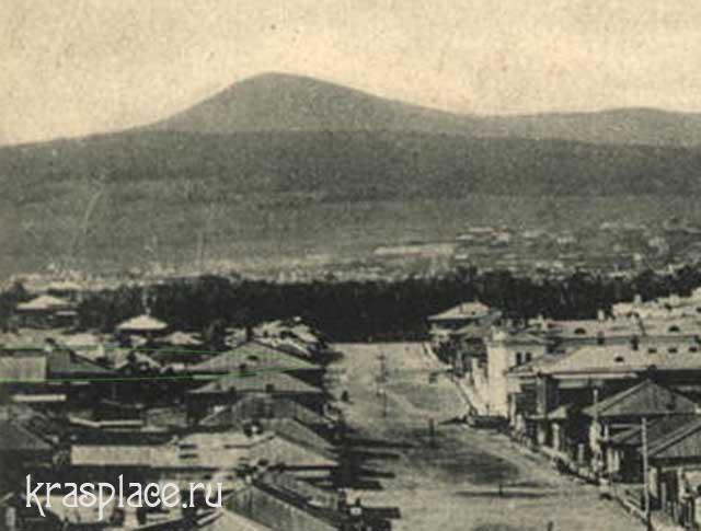 Место усадьбы Ковского, 1905 год
