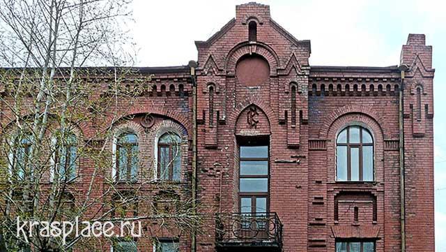 Верхние этажи южного фасада дома Ковского