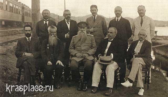 Правительство генерала Хорвата.Владивосток, 1918