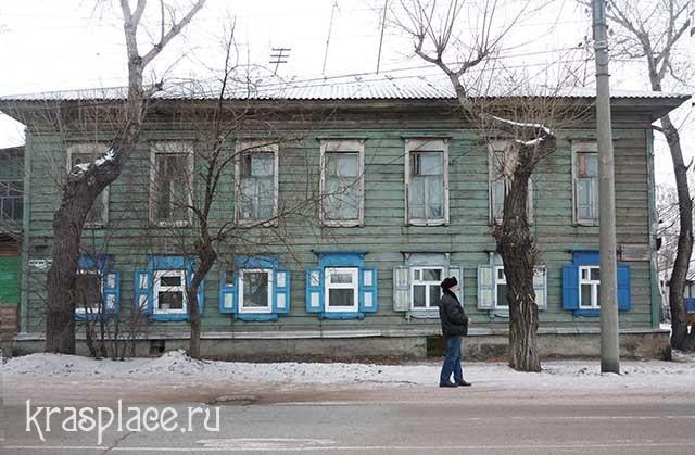 Дом Сафьяновых. Минусинск_