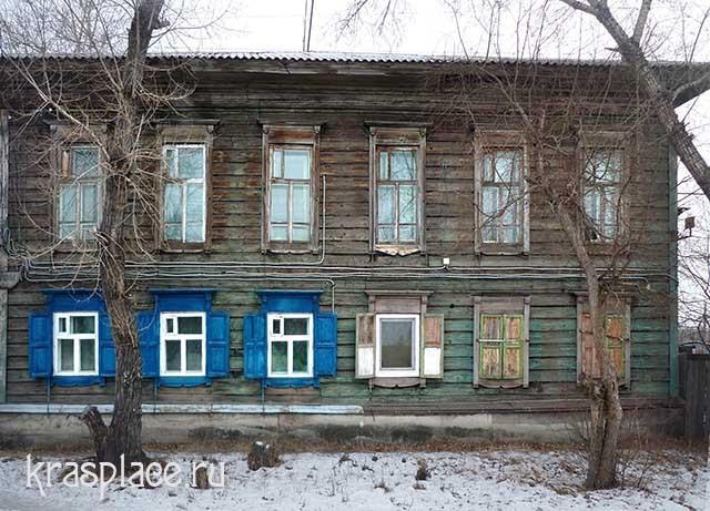 Дом Сафьяновых. Минусинск
