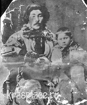 Степан Дмитриевич Майнагашев и его семья