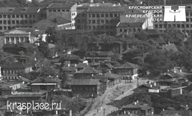 """Гостиница """"Привет"""" на усадьбе мещанина Горбунова по улице Больше-Качинской"""